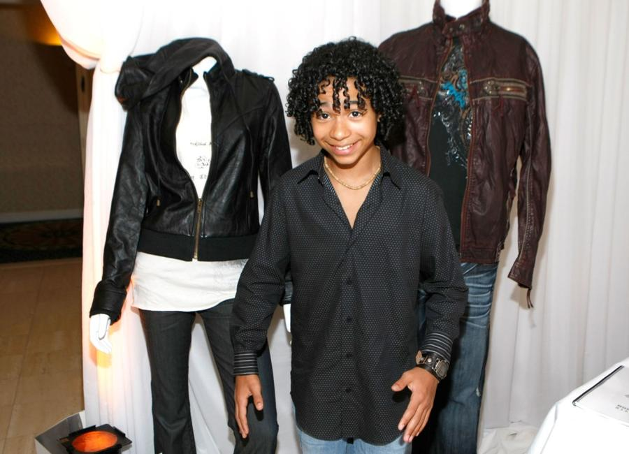 Jaden Smith at the HBO Luxury Lounge in honor of the 60th Annual Primetime Emmy Awards.