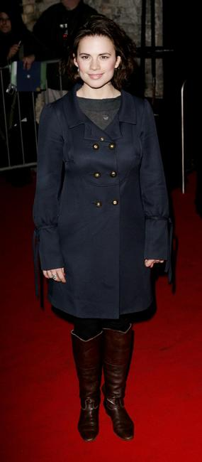 Hayley Atwell at the tenth Annual British Independent Film Awards.