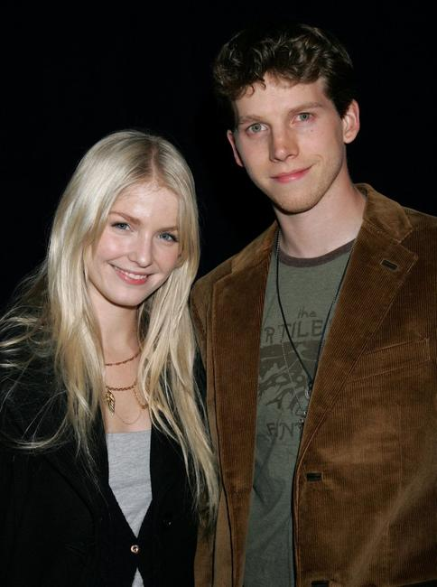 Whitney Able and Stark Sands at the opening of