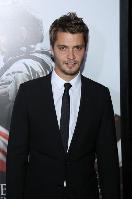 Luke Grimes at the New York premiere of