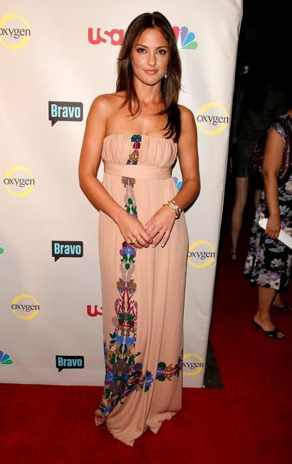 Minka Kelly at the NBC Universal 2008 Press Tour All-Star Party.