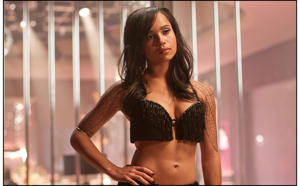 Zoe Kravitz as Angel Salvadore in