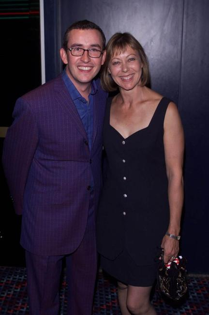 Jenny Agutter and Steve Coogan at the premiere party of