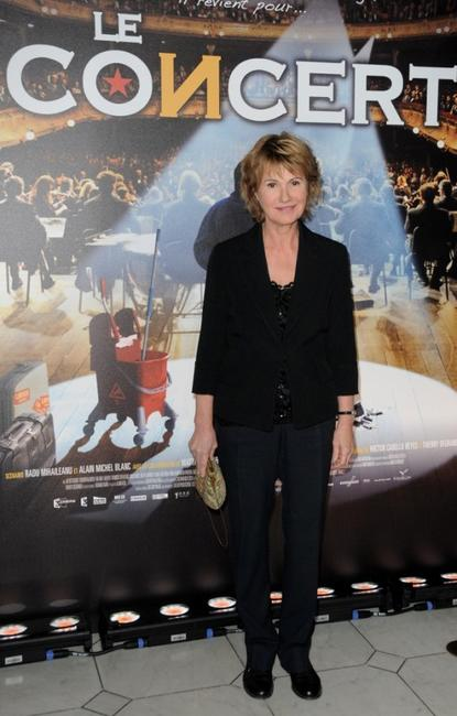 Miou-Miou at the premiere of
