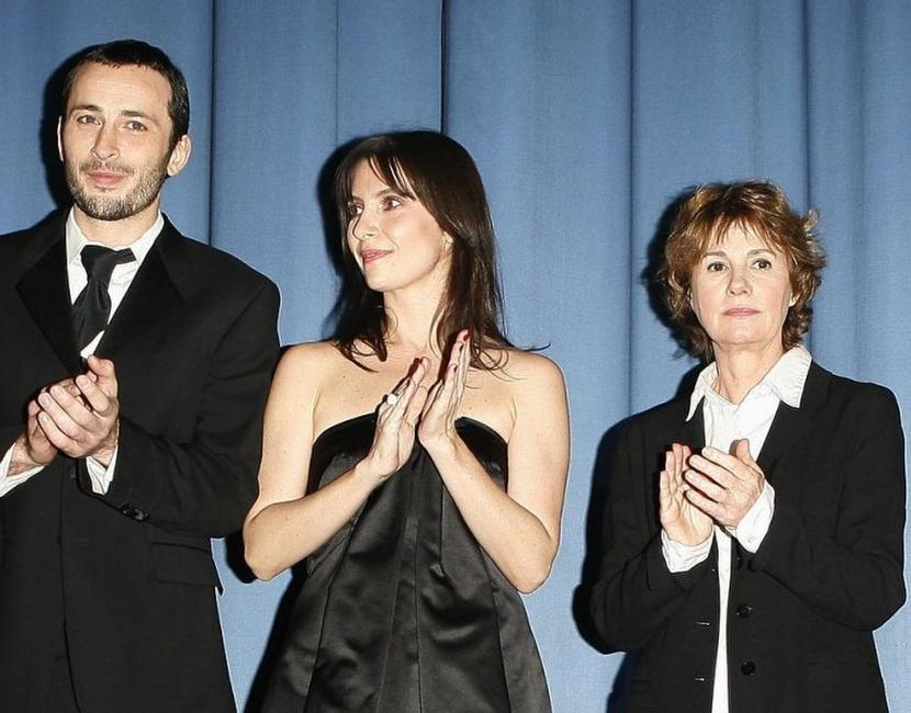 Michael Cohen, Geraldine Pailhas and Miou-Miou at the premiere of