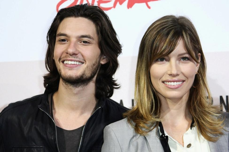 Ben Barnes and Jessica Biel at the 3rd Rome International Film Festival.