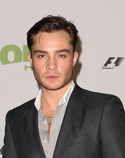 Ed Westwick at the 2011 Grand Prix party in Melbourne.