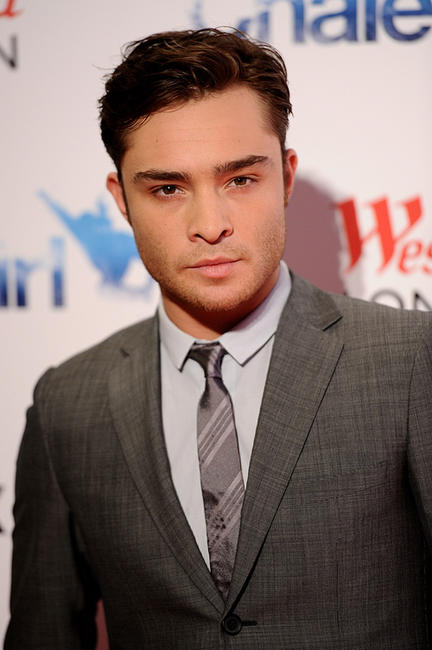 Ed Westwick at the UK premiere of