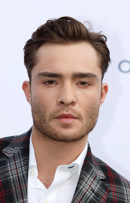 Ed Westwick at the Tommy Hilfiger Pop-Up House Launch in London.