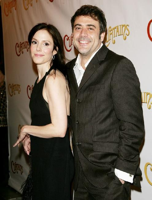 Mary Louise Parker and Jeffrey Dean Morgan at the opening night of