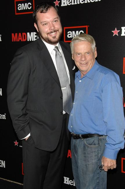 Michael Gladis and Robert Morse at the AMC & Heineken's