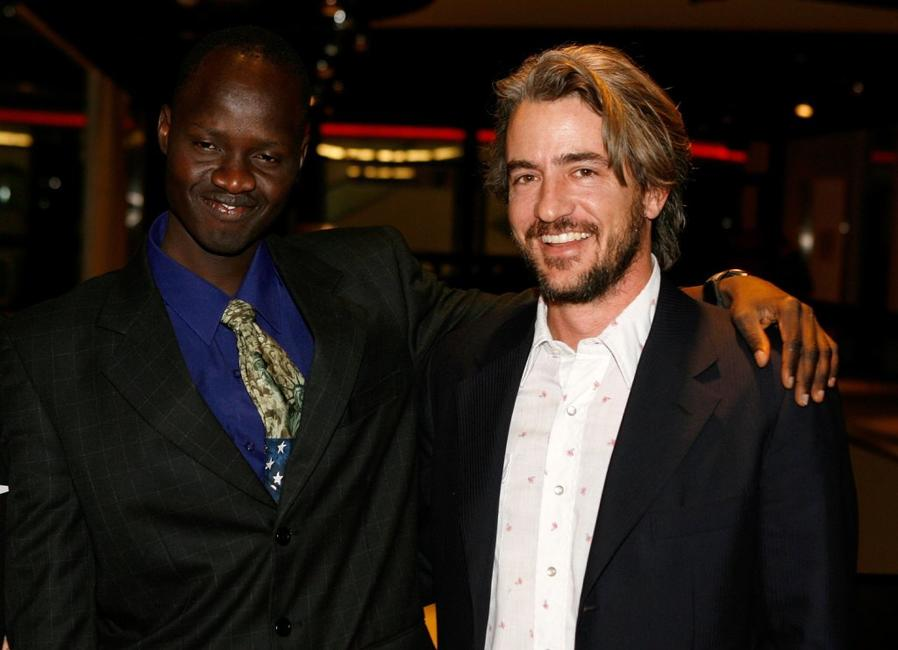 Dermot Mulroney and Daniel Abul Pach at the premiere of