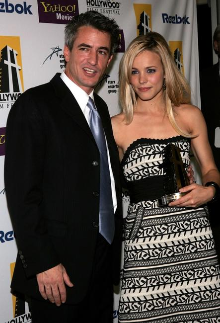 Dermot Mulroney and Rachel McAdams at the 9th Annual Hollywood Film Awards.