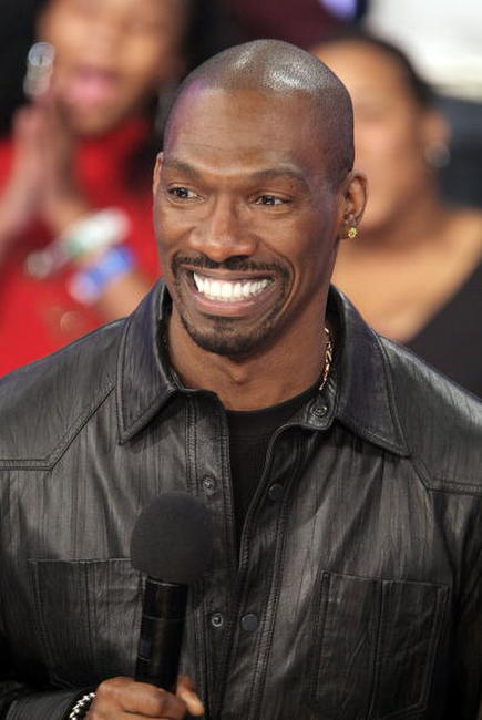 Charlie Murphy at the taping of BET's 106 & Park.