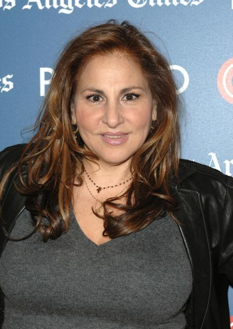 Kathy Najimy at the CNN, LA Times, POLITICO Democratic Debate.