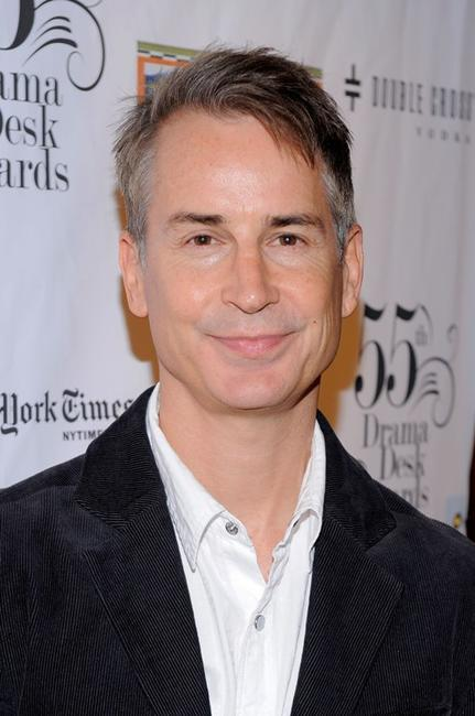 Geoffrey Nauffts at the 2010 Drama Desk Award nominees cocktail reception.