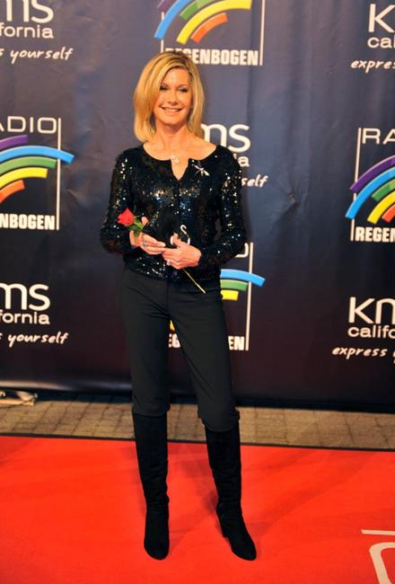 Olivia Newton-John at the Radio Regenbogen Awards.