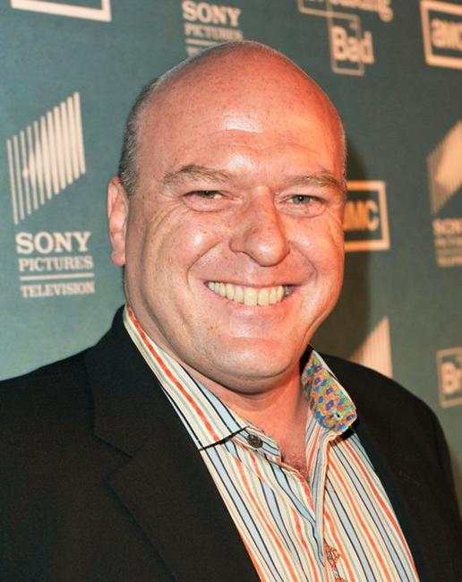 Dean Norris at the season two premiere of