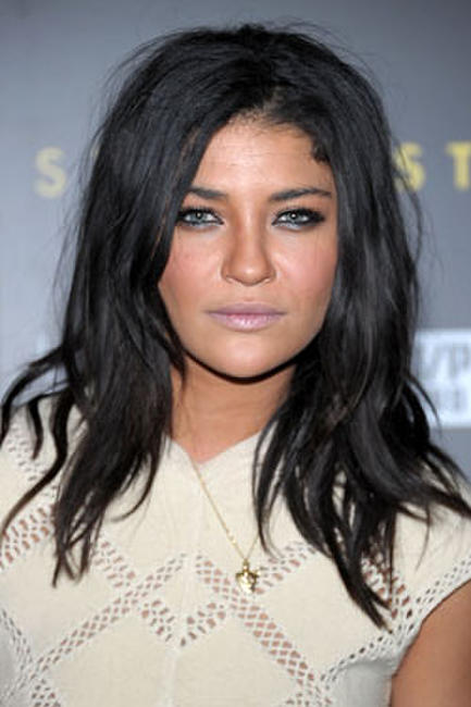 Actress Jessica Szohr arrives at the HELP HAITI benefiting The Ben Stiller Foundation and The J/P Haitian Relief Organization at the Urban Zen Center At Stephan Weiss Studio.