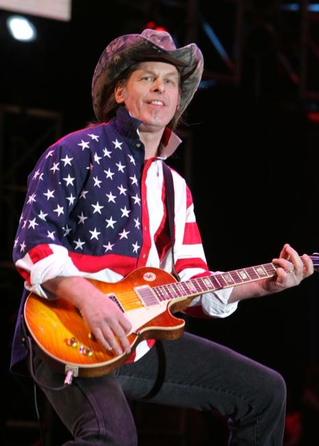 Ted Nugent at the Rockin The Corps, An American Thank You Celebration Concert.
