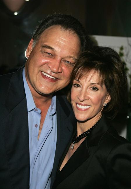 Ed O'Ross and Deana Martin at the