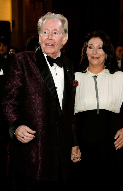 Peter O'Toole and and daughter Kate O'Toole at the 79th Annual Academy Awards.
