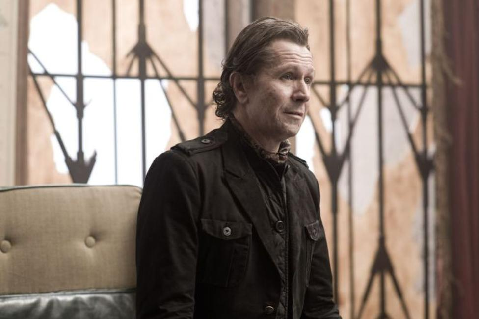 Gary Oldman as Carnegie in