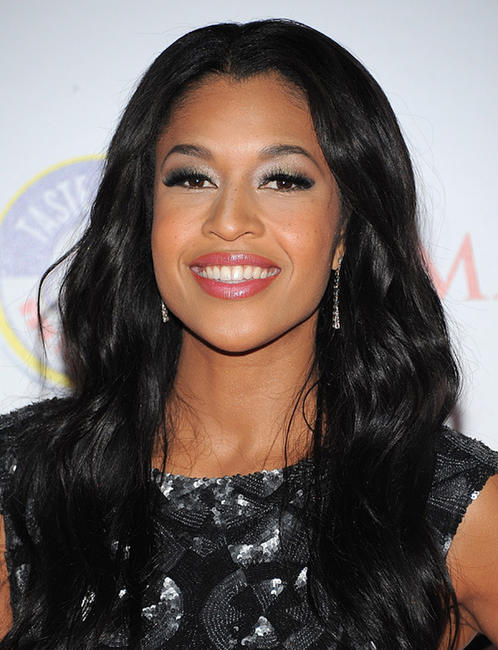 Kali Hawk at the Maxim's Hot 100 party in California.