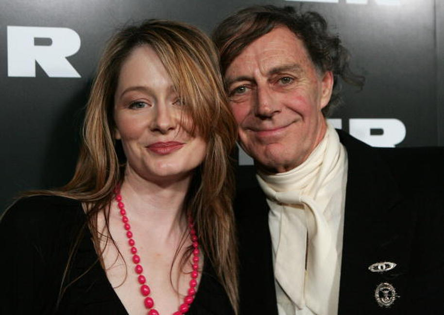 Miranda Otto and Barry Otto at the Myer Spring/Summer Fashion Show 2006.