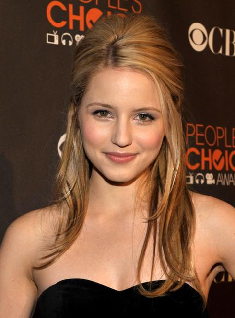 Dianna Agron at the People's Choice Awards 2010.