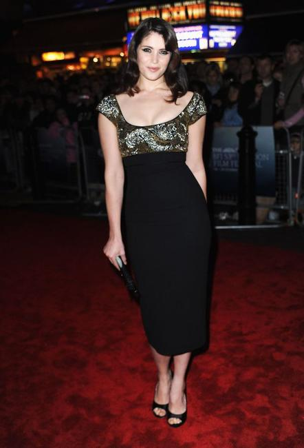 Gemma Arterton at the premiere of