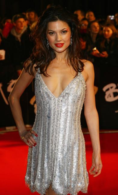 Gemma Arterton at the Brit Awards 2008.