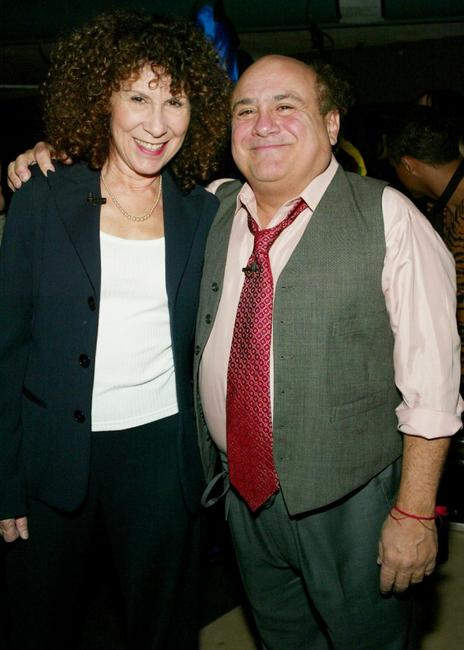 Rhea Perlman and Danny Devito at the 2nd Annual TV Land Awards.