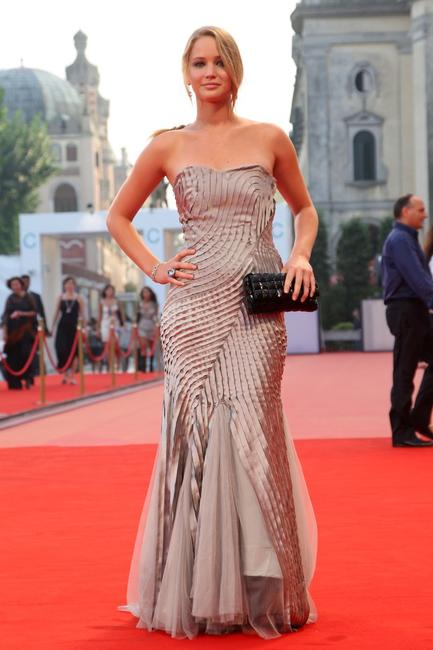 Jennifer Lawrence at the 65th Venice Film Festival Closing Ceremony.