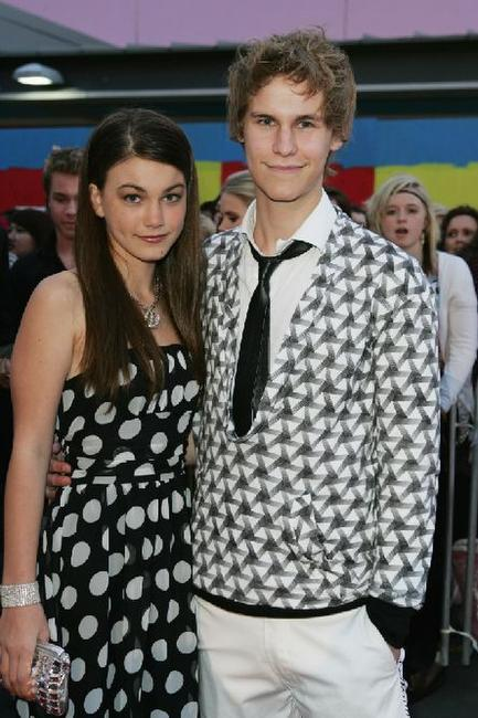 Charlotte Best and Rhys Wakefield at the Dolly Teen Choice Awards.