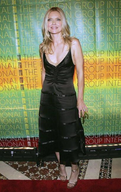 Michelle Pfeiffer at The Fashion Group International's 21st Annual Night of Stars in N.Y.