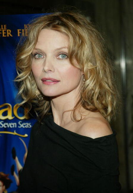 Michelle Pfeiffer at a special screening of DreamWorks Pictures'