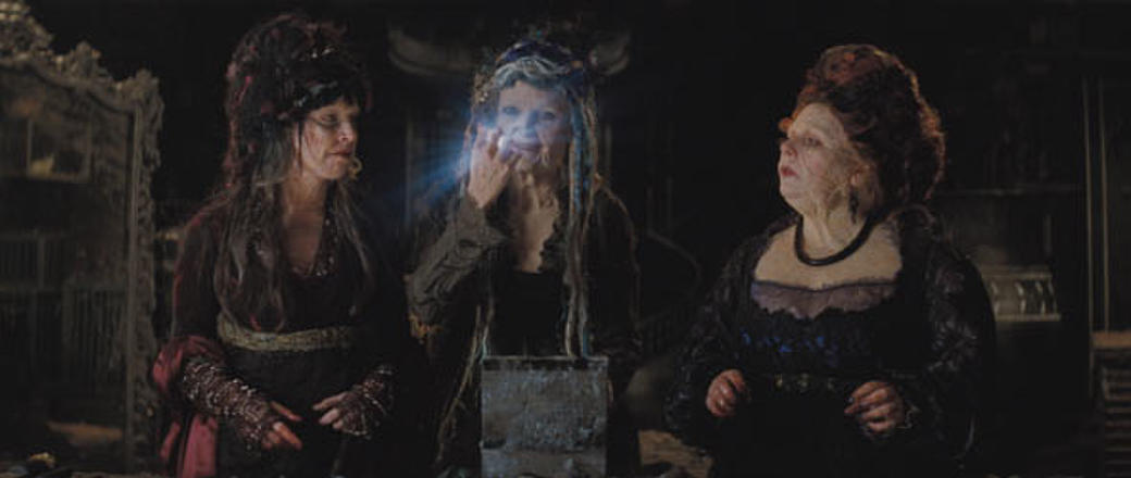 Three witches – Empusa (Sarah Alexander), Lamia (Michelle Pfeiffer) and Mormo (Joanna Scanlan) – pursue their desire for renewed youth in