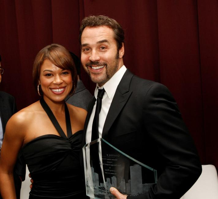 Toni Trucks and Jeremy Piven at the 5th annual Columbia College Chicago Impact Awards 2007.