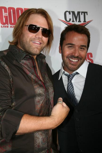 James Otto and Jeremy Piven at the Nashville premiere of