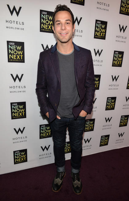 Skylar Astin at the 2013 Logo NewNowNext Awards in California.