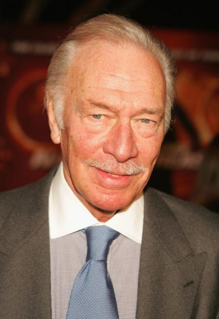 Christopher Plummer at the Disney premiere of