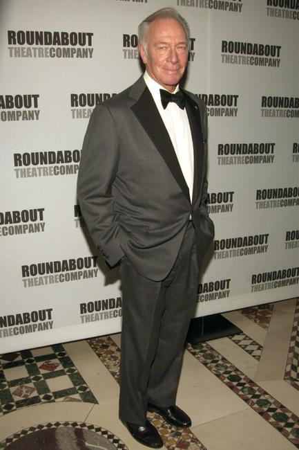 Christopher Plummer at the Roundabout Theater Company's 2002 Spring Gala.