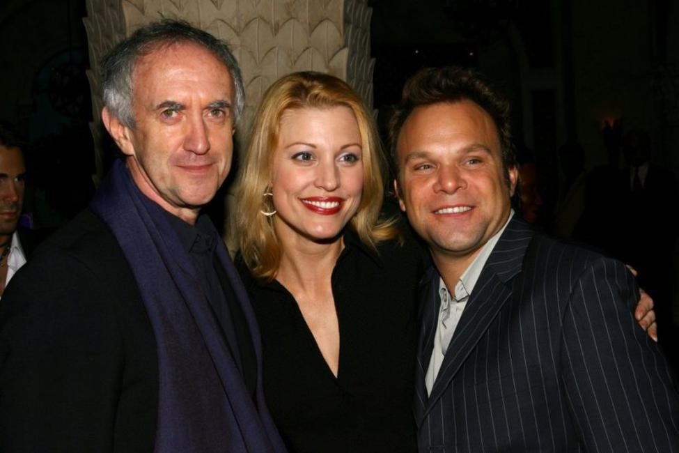 Jonathan Pryce, Rachel York and Norbert Leo Butz at the after party of
