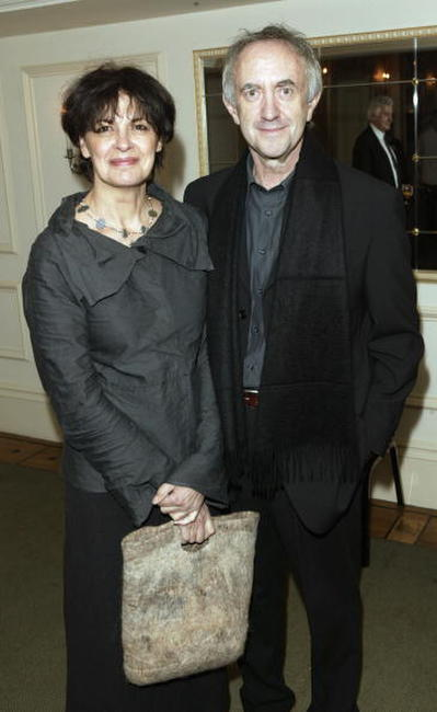 Jonathan Pryce and his wife Kate Fahey at the Evening Standard Theatre Awards.