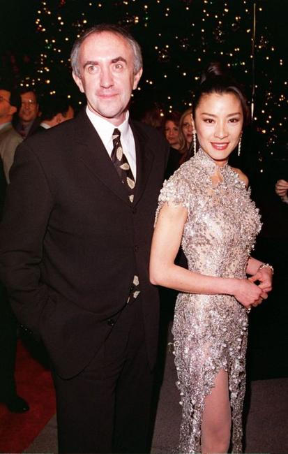 Jonathan Pryce and Michelle Yeoh at the premiere of