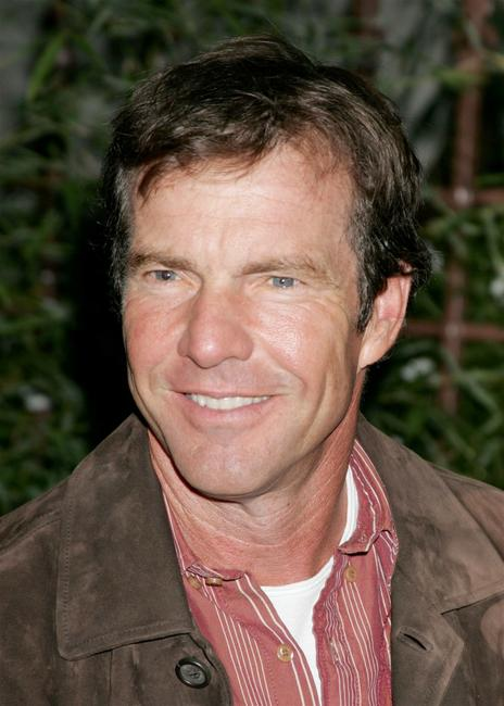 Dennis Quaid at the HollywoodPoker.com's first year anniversary party.