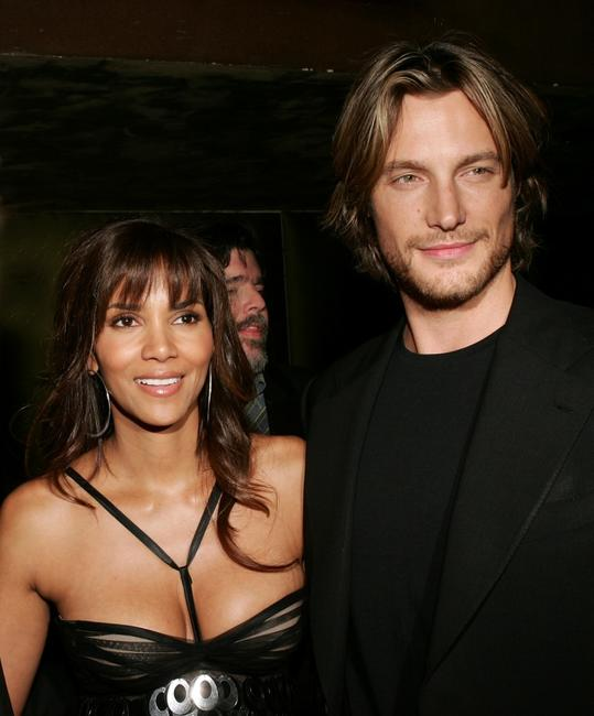 Halle Berry and Gabriel Aubry at the after party premiere of