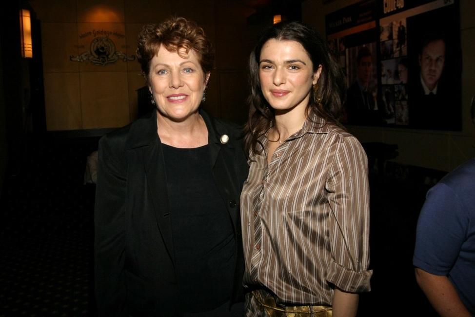 Lynn Redgrave and Rachel Weisz at a private screening of