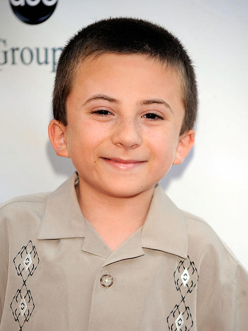 Atticus Shaffer at the Disney-ABC Television Group Summer Press Tour party.